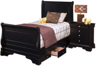 New Classic Belle Rose Twin Storage Bed