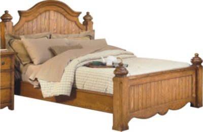 New Classic Hailey King Poster Bed