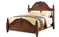 New Classic Jaquelyn Cherry Queen Bed