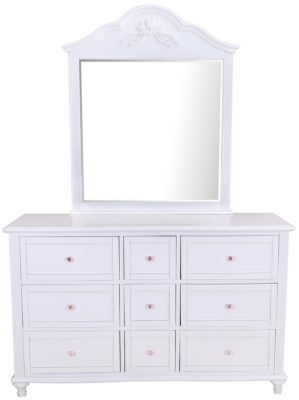 New Classic Megan Kids' Dresser with Mirror