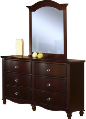 New Classic Victoria Dresser with Mirror