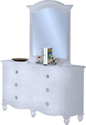 New Classic Victoria Kids' Dresser with Mirror