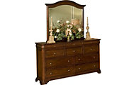 New Classic Whitley Court Dresser with Mirror