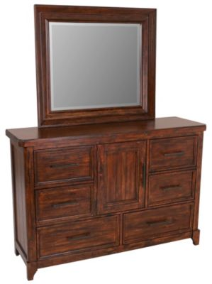New Classic Kittredge Door Dresser with Mirror