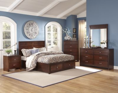 New Classic Kensington 4-Piece Queen Storage Bedroom Set