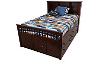New Classic Seaside Full Storage Bed