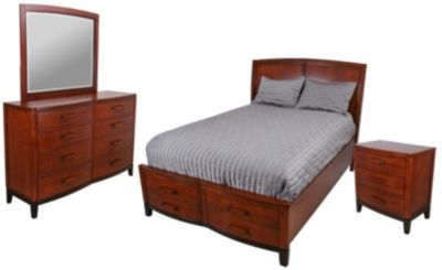 New Classic Sloane 4-Piece Queen Storage Bedroom Set