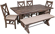 New Classic Tuscany Park 6-Piece Dining Set