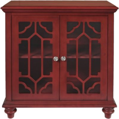 New Classic Enzo Red Console Table