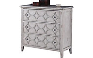 New Classic Lucia Antique Gray Console Table