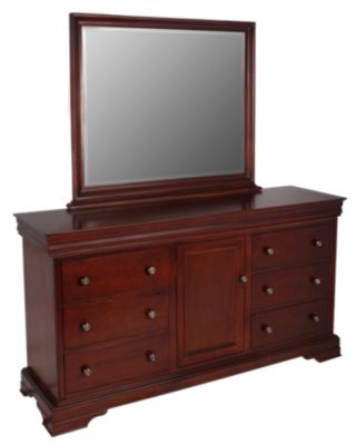 New Classic Versaille Dresser with Mirror