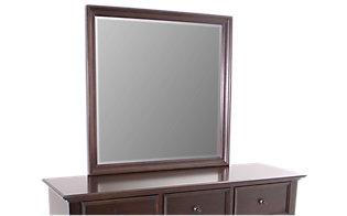 New classic prescott 4 piece queen bedroom set for Prescott mirror