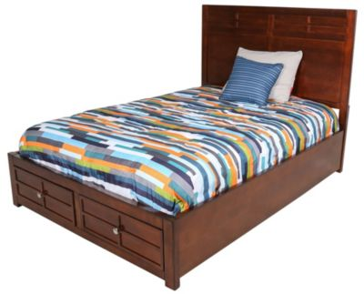 New Classic Kensington Full Storage Bed Homemakers Furniture