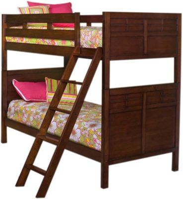 New Classic Kensington Twin Twin Bunk Bed Homemakers Furniture