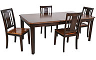 New Classic Latitudes Two-Tone 5-Piece Dining Set