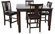 New Classic Latitudes Chestnut 5-Piece Counter Set
