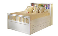 New Classic Bayfront Full Storage Bed