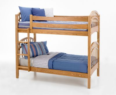 New Classic Casual Oak Twin/Twin Bunk Bed
