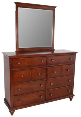 New Classic Spring Creek Dresser with Mirror