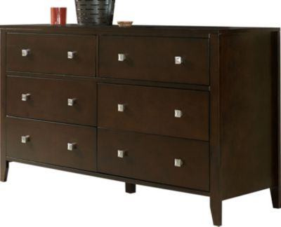 Ne Bedroom Pulse Chocolate Kids' Dresser