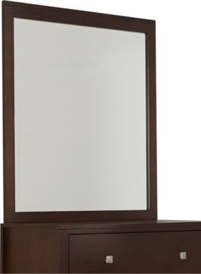 Ne Bedroom Pulse Chocolate Kids' Mirror