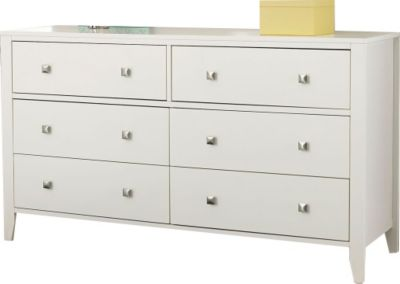 Ne Bedroom Pulse White Kids' Dresser