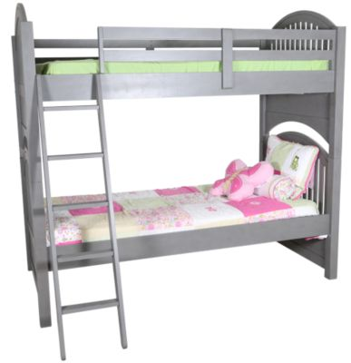 Ne Bedroom Lake House Gray Twin/Twin Bunk Bed