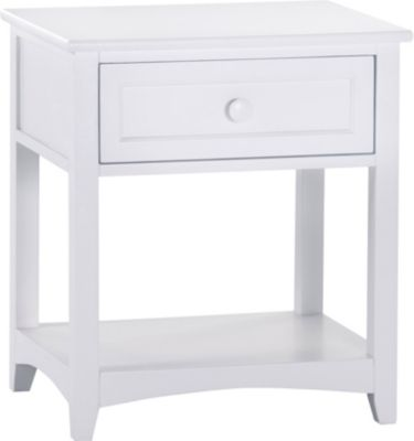 Ne Bedroom Schoolhouse White Nightstand