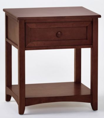 Ne Bedroom Schoolhouse Cherry Nightstand