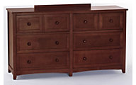Ne Bedroom Schoolhouse Cherry Dresser