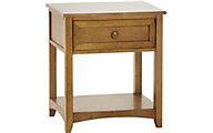 Ne Bedroom Schoolhouse Pecan Nightstand