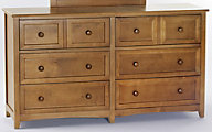 Ne Bedroom Schoolhouse Pecan Dresser