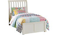 Ne Bedroom Pulse White Full Sleigh Bed