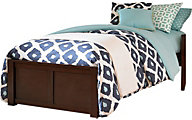 Ne Bedroom Pulse Chocolate Twin Platform Bed