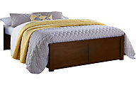 Ne Bedroom Pulse Cherry Full Platform Bed