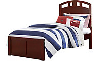 Ne Bedroom Pulse Cherry Twin Panel Bed