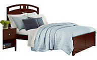 Ne Bedroom Pulse Cherry Full Panel Bed