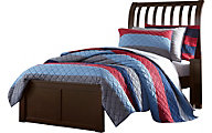 Ne Bedroom Pulse Cherry Twin Sleigh Bed