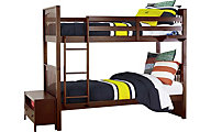 Ne Bedroom Pulse Cherry Twin/Twin Bunk Bed