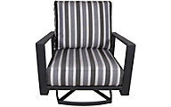 O W Lee Company Gios Oiutdoor Swivel Rocker Lounge Chair