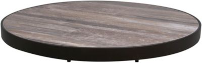 O W Lee Company Reclaimed Porcelain Outdoor Lazy Susan