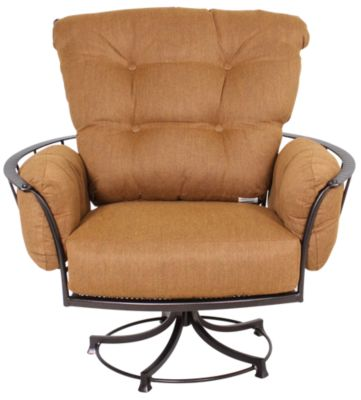 O W Lee Company Monterra Outdoor Swivel Rocker Club Chair