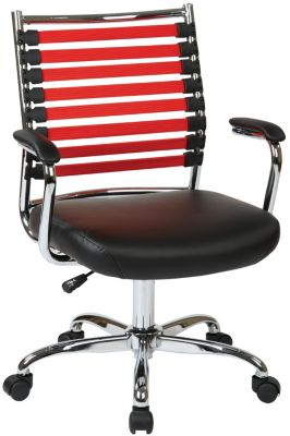 Office Star Randal Red Office Chair
