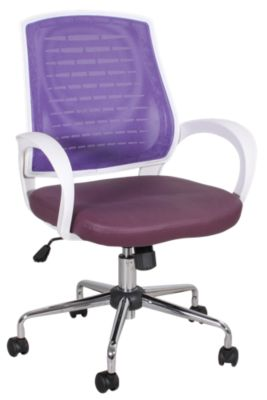Office Star Rio Purple Office Chair