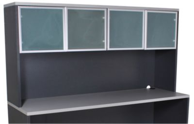 Office Star Napa Gray Hutch Top Only