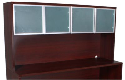 Office Star Napa Mahogany Hutch Top Only