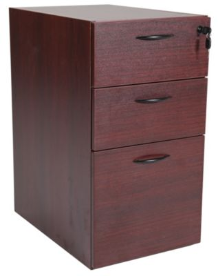 Office Star Napa Mahogany File Base
