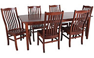 Palettes Cherry Table & 6 Prestige Side Chairs