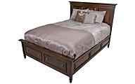 Palettes Vineyard Haven Queen Storage Bed