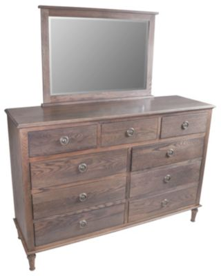 Palettes Southampton Dresser with Mirror
